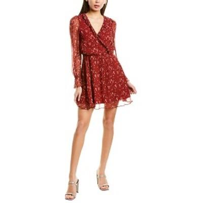 スティービーメイ レディース ワンピース トップス Stevie May Crossover Mini Dress red sweet Caroline print