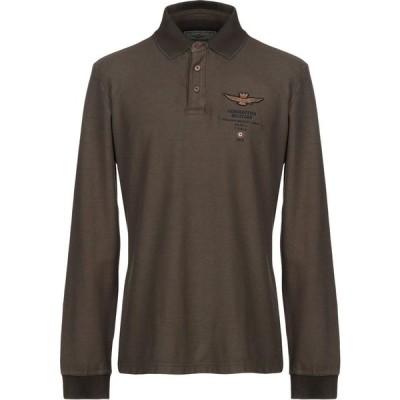 アエロナウティカ ミリターレ AERONAUTICA MILITARE メンズ ポロシャツ トップス Polo Shirt Military green