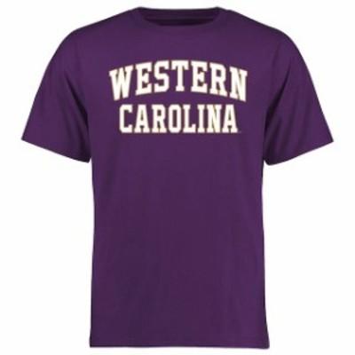 Fanatics Branded ファナティクス ブランド スポーツ用品  Western Carolina Catamounts Purple Everyday T-Shirt