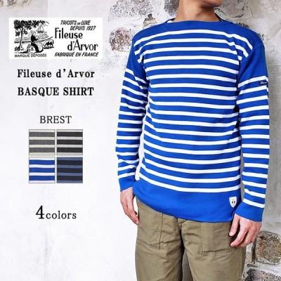 Fileuse d'Arvor フィルーズダルボー BREST ブレスト バスクシャツ ボーダー ユニセックス フィールズダルボー 〔FL〕
