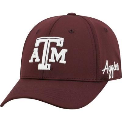 トップオブザワールド メンズ 帽子 アクセサリー Top of the World Men's Texas A&M Aggies Maroon Phenom 1Fit Flex Hat