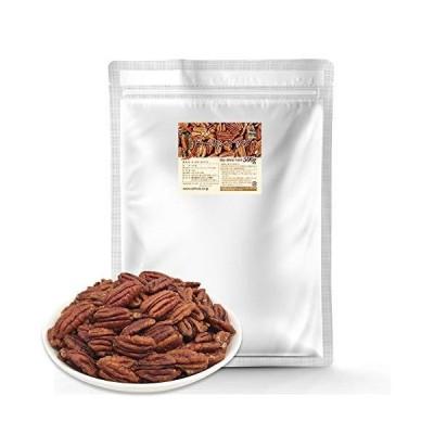素焼き ピーカンナッツ(ロースト)500g 無塩 無添加 産地直輸入 便利なチャック付袋 防災食品 非常食 備蓄食 保?