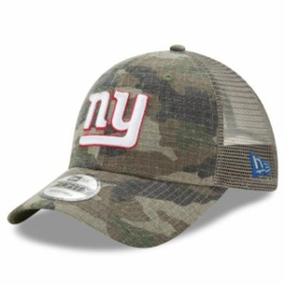 New Era ニュー エラ スポーツ用品  New Era New York Giants Camo Woodland Trucker Duel 9FORTY Adjustable Snapback Hat