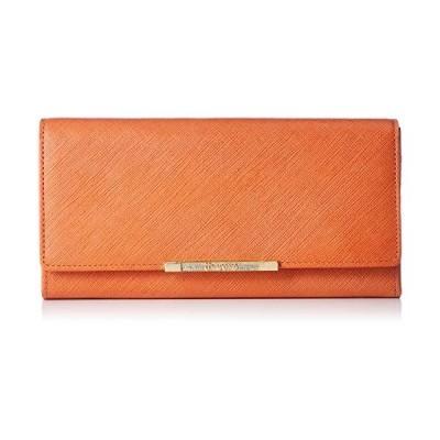 ユー バイ ウンガロ 財布 アイガー 内側ダブルファスナー付 カブセ長財布 レディース UULW6AT4 オレンジ