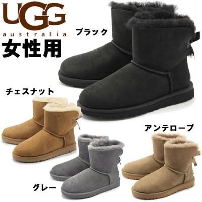 UGGアグ レディース ムートンブーツ ミニベイリーボウ II UGG 1262-0137