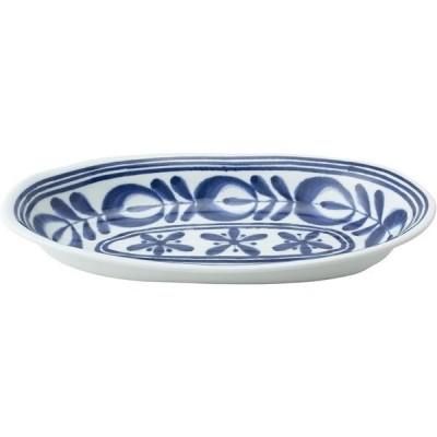 西海陶器 モダンブルー カレー鉢