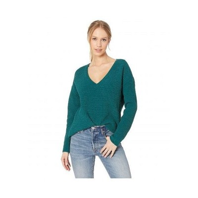 BB Dakota ビービーダコタ レディース 女性用 ファッション セーター Cool Runnings V-Neck Sweater - Winter Green
