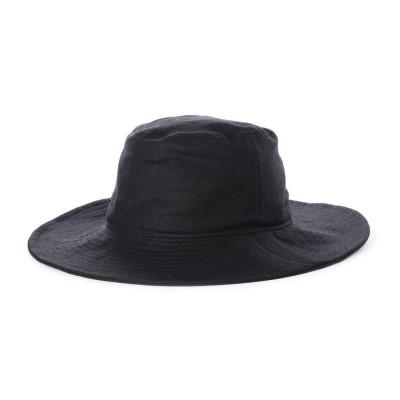 スライ SLY LINEN BUCKET HAT (ブラック)