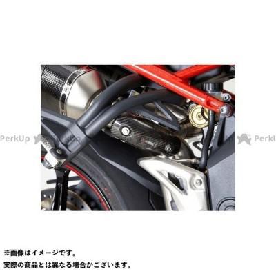 アクラポビッチ スピードトリプル Heat shield(Carbon) for Triumph Speed Triple 1050(2011-20…