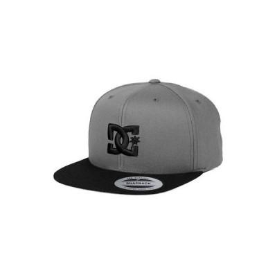 帽子 ディーシーシューズ DC Shoes Men's Snappy Snapback Hat Gray Baseball Cap Headwear