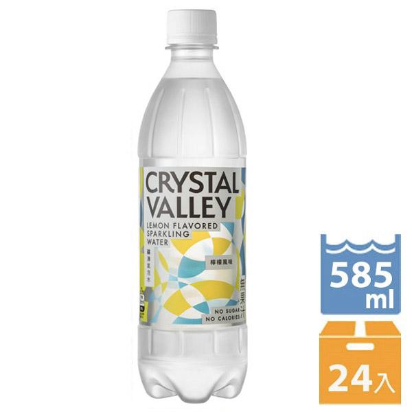 礦沛氣泡水-檸檬風味585ml x24入團購組