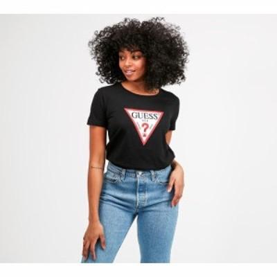 ゲス Guess レディース Tシャツ トップス basic triangle t-shirt