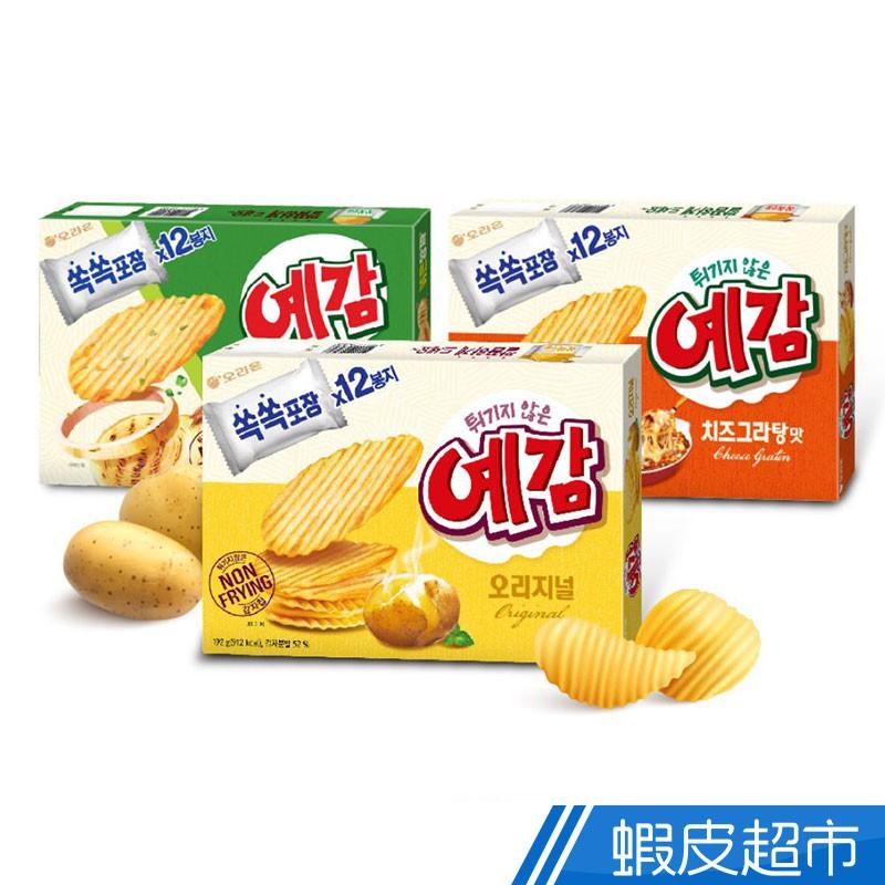 韓國 orion 好麗友 預感香烤洋芋片 12入 超值量販包 原味/起司/洋蔥 非油炸烘烤 現貨 蝦皮直送