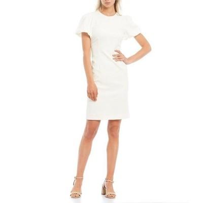 アントニオ メラーニ レディース ワンピース トップス Dolly Puff Sleeve Crepe Dress