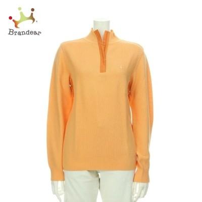 マンシングウェア 長袖セーター サイズM レディース 美品 オレンジ系 ニット・セーター   スペシャル特価 20210418