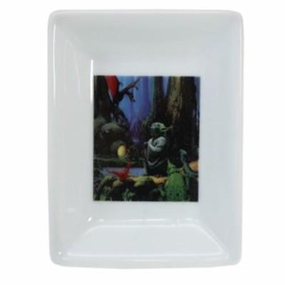 スターウォーズ 角 小皿 ミニ スクエア プレート 40周年記念 ヨーダ STAR WARS 7×9.5×1cm キャラクター グッズ