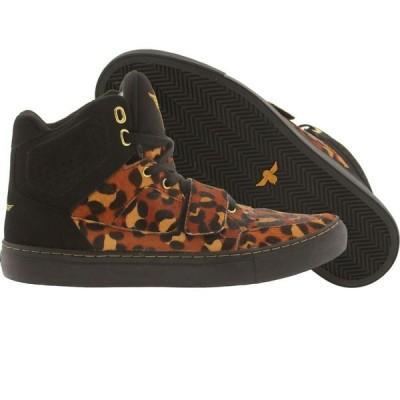 クリエイティブ レクリエーション Creative Recreation メンズ スニーカー シューズ・靴 Cota leopard/mohair/black