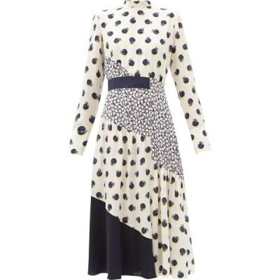 ステラ マッカートニー Stella McCartney レディース ワンピース ワンピース・ドレス Amora tangerine-print silk dress Print