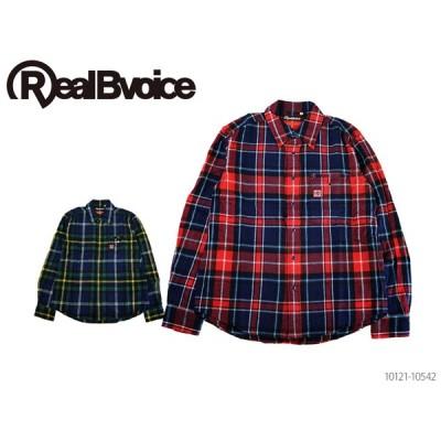 RealBvoice リアルビーボイス RBV MADE IN JAPAN FLANNEL SHIRT メイドインジャパン ネル シャツ 10121-10542