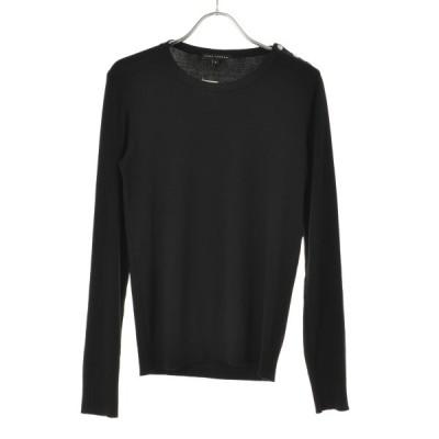 TARA JARMON ビジュー装飾 長袖ニットセーター