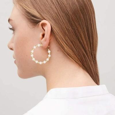 36 Pairs Fashion Tassel Earrings Set for Women Girls Gold Cross Dangle