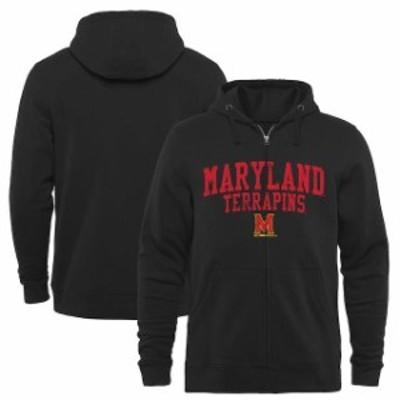 Fanatics Branded ファナティクス ブランド スポーツ用品  Maryland Terrapins Black Arched School Name & Mascot Ful