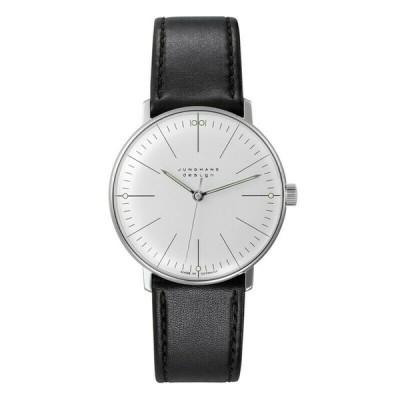 腕時計 ユンハンス 男女兼用  NEW Junghans Max Bill 027 3700.04 Unisex Hand-Winding Watch - 027 3700.00