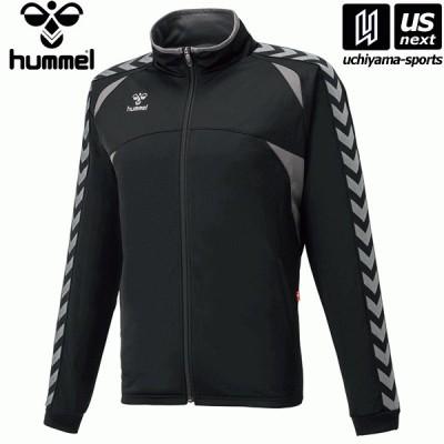 ヒュンメル HAT2066 ウォームアップジャケット (9099)ブラック×ガンメタル 2021年春夏継続モデル [取り寄せ][自社](メール便不可)