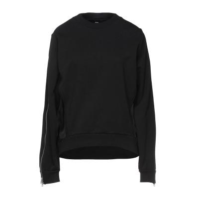 ディーゼル DIESEL スウェットシャツ ブラック XS コットン 100% / レーヨン / ポリウレタン スウェットシャツ