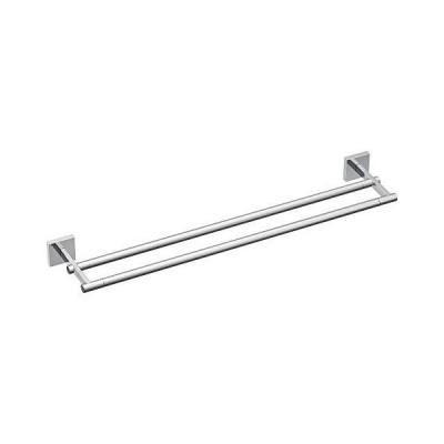 """【並行輸入品】Moen BP1822CH Triva 24"""" Double Towel Bar, Chrome"""