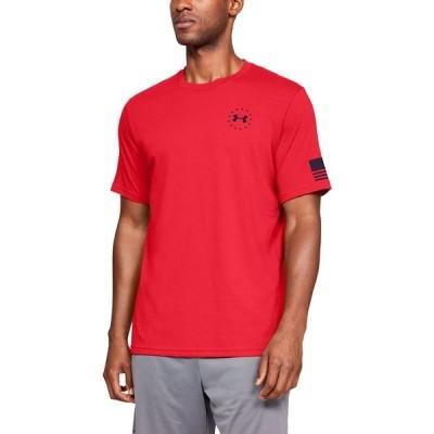アンダーアーマー Tシャツ トップス メンズ Men's Graphic T-Shirt Red
