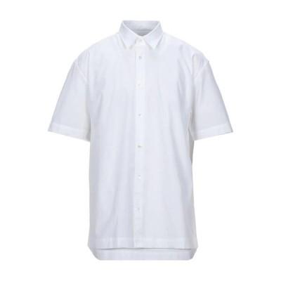 MAURO GRIFONI 無地シャツ  メンズファッション  トップス  シャツ、カジュアルシャツ  長袖 ホワイト