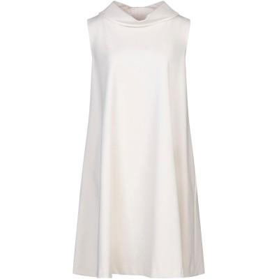 1-ONE ミニワンピース&ドレス アイボリー 38 レーヨン 69% / ナイロン 25% / ポリウレタン 6% ミニワンピース&ドレス