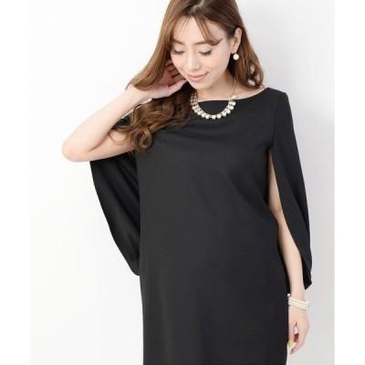 ドレス 【AMLET CRONE】ドルマンボレロ風ドレス
