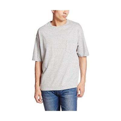 (ユナイテッドアスレ)UnitedAthle 5.6オンス ビッグシルエット Tシャツ(ポケット付) 500801 006 ミックスグレー M