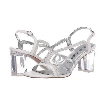 Anne Klein アン クライン レディース 女性用 シューズ 靴 ヒール Halona - White/Silver