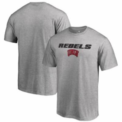 Fanatics Branded ファナティクス ブランド スポーツ用品  Fanatics Branded UNLV Rebels Heathered Gray Big & Tall On-Point T-Shirt