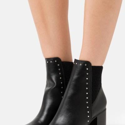 バッファロー レディース ブーツ MATILDA - High heeled ankle boots - black
