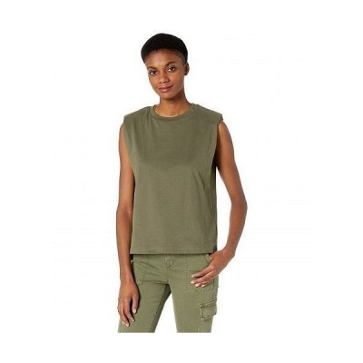 AllSaints レディース 女性用 ファッション トップス シャツ Coni Tank Top - Khaki Green
