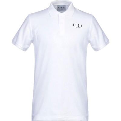 ジョン リッチモンド JOHN RICHMOND メンズ ポロシャツ トップス Polo Shirt White