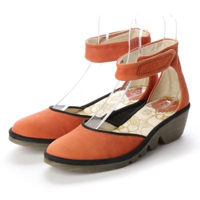ヨーロッパコンフォートシューズ EU Comfort Shoes FLYLONDON サンダル・パンプス(500.375) (オレンジ)