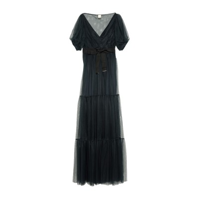 ピンコ PINKO ロングワンピース&ドレス ダークブルー 44 ナイロン 100% ロングワンピース&ドレス