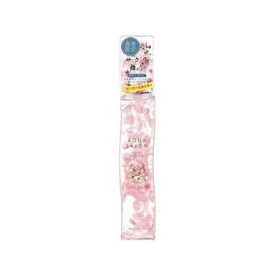 アクアシャボン フラワーボディジェル サクラフローラルの香り 140g