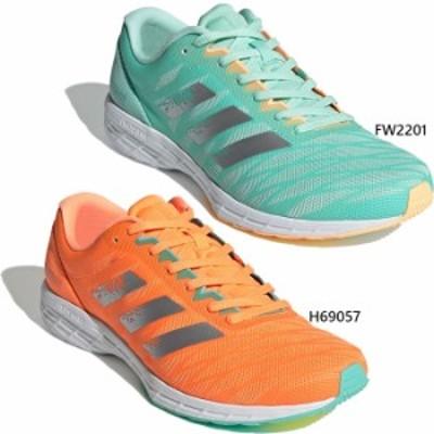 【送料無料】 ワイド幅 アディダス adidas メンズ アディゼロ ADIZERO RC 3 WIDE ジョギング マラソン ランニングシューズ FW2201 H69057