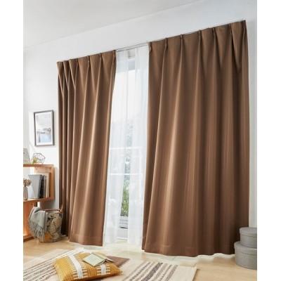 ストライプ柄。遮熱。遮光カーテン&レースセット カーテン&レースセット, Curtains, sheer curtains, net curtains(ニッセン、nissen)