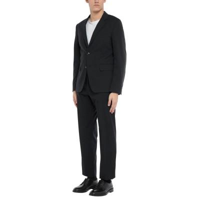 RICHMOND X スーツ ブラック 52 ナイロン 55% / コットン 42% / ポリウレタン 3% スーツ