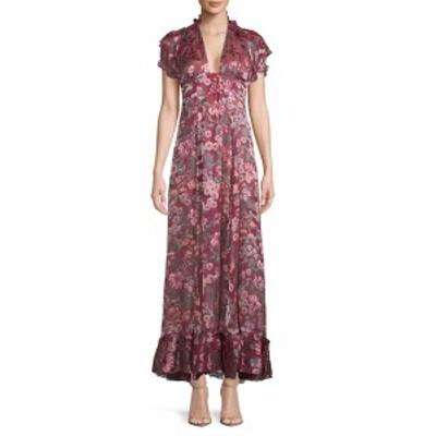 フォーラブ&レモンズ レディース ワンピース Floral Maxi Dress