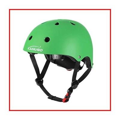 KAMUGO Kids Adjustable Helmet, Suitable for Toddler Kids Ages 3-14 Boys Girls, Multi-Sport Safety Cycling Skating Scooter Helmet【並行輸