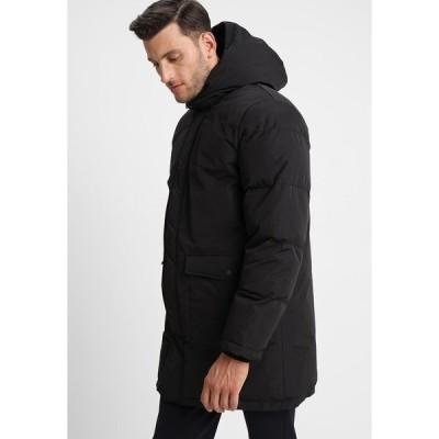 サムスサムス コート メンズ アウター DIETMAR  - Winter coat - black