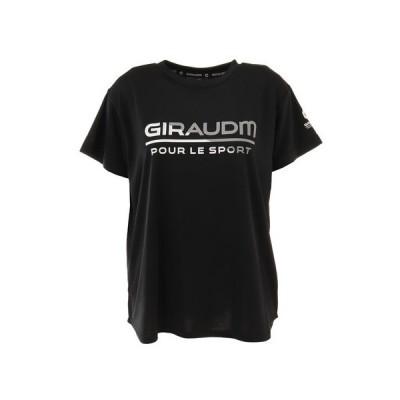 ジローム(GIRAUDM) Tシャツ レディース 半袖 ドライ 吸汗速乾 UVカット メッシュシャツ 864GM1CD6678 BLK (レディース)